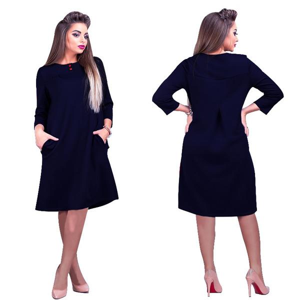 Wish 2018 Summer New Fat Woman Dress Fashion Loose Large Dress