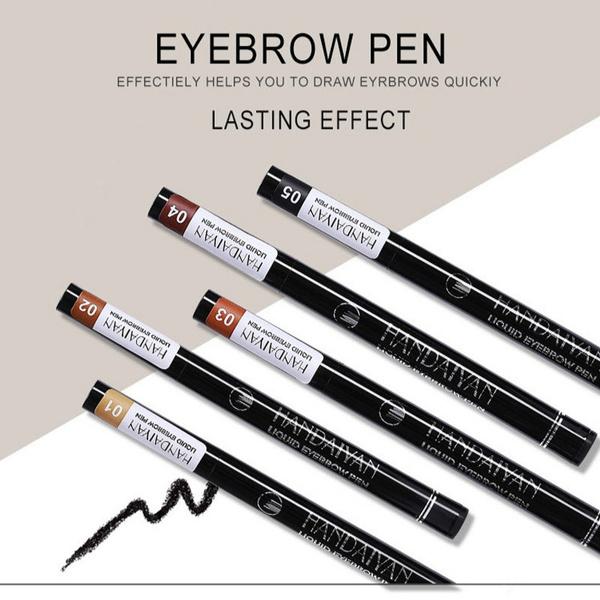 Wish Handaiyan Eyebrow Pencil Waterproof Fork Tip Eyebrow Tattoo