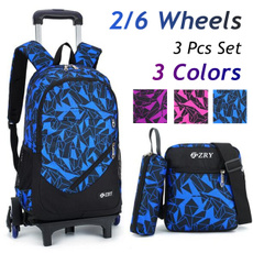 kids, School, wheelsbag, Backpacks