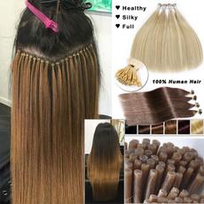 gluehair, human hair, Hair Extensions, Remy Hair