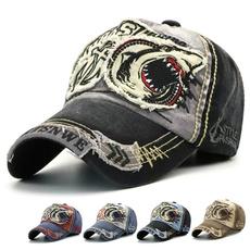 Baseball Hat, Shark, Outdoor, men cap