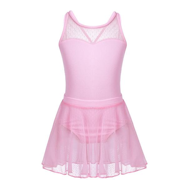 0a24d3c3b2d3 Girls' Camisole Leotard with Tutu Wrap Skirt Dance Costume Ballet ...