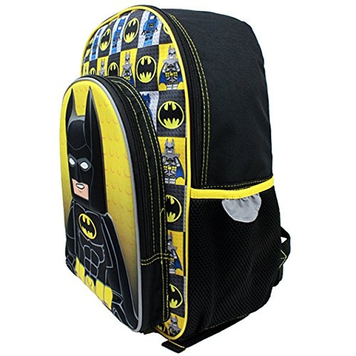 81458b21baa Wish   Lego Batman 16 inch Backpack and Lunch Box Set (Black Yellow)