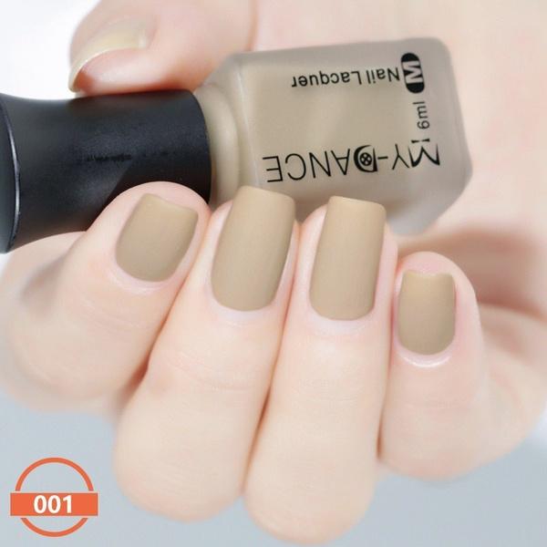 Wish   6ml/bottle Velvet Matte Nail Polish Long-lasting Durable Nail ...