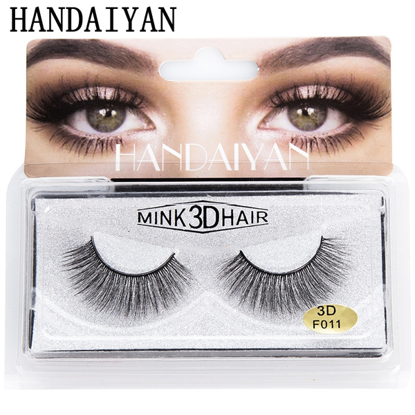 0090c1d33df False Mink Lashes Volume Eyelash Extensions 3d wimpers extension de ...