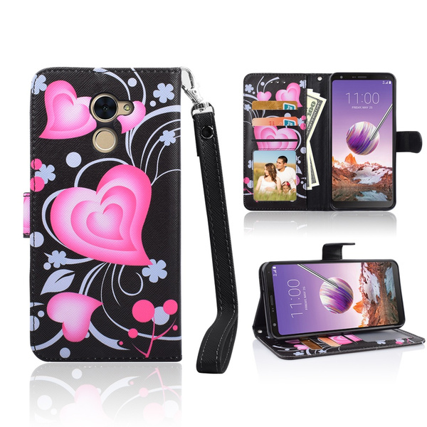 For Huawei Ascend XT 2 H 1711 Case/Huawei Elate 4G LTE Phone Case Designed  Hybrid Wallet Grip Texture Kick stand Pocket Purse Screen Flip Cover