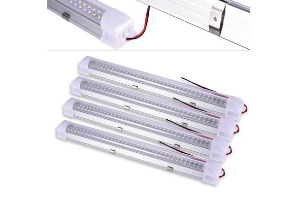 LED Streifen Leuchte Röhre 72-LEDs Auto Van VOLT Stablampe Lichtleiste DC12V