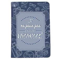 bleu, voyage, maroquinerie, portepapier