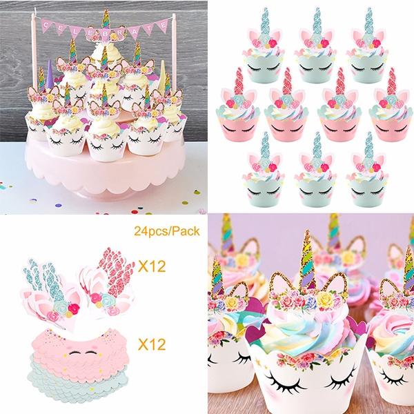 Happybirthday Rainbow Decor Baking