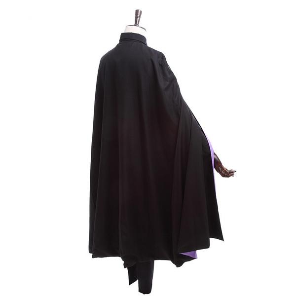 Anime Boruto Naruto The Movie Uchiha Sasuke Cosplay Costume Uniform Suit Cloak