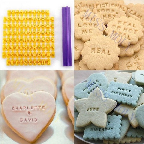 alphabetmold, lettermold, Baking, Kitchenware