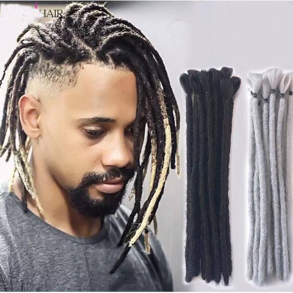 Dreadlocks extensions for short hair