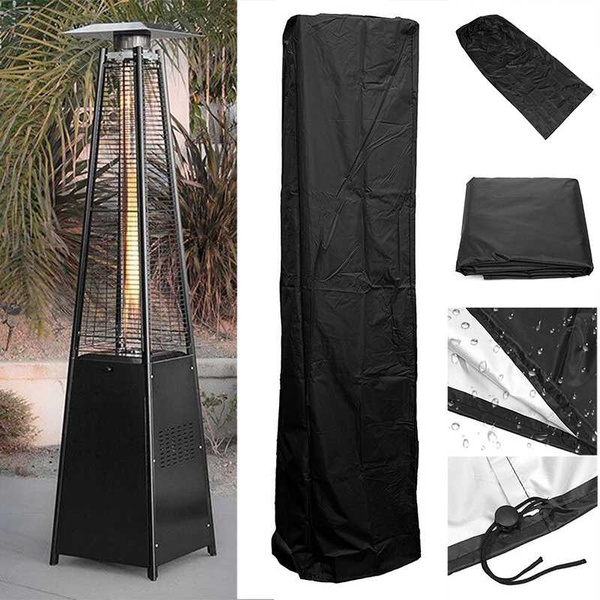 Waterproof Pyramid Real Flame Patio Cover Gas Heater Outdoor Cover Protection