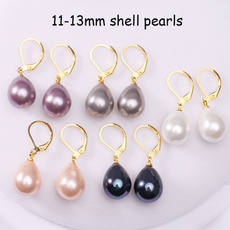 Hoop Earring, Dangle Earring, Jewelry, Pearl Earrings