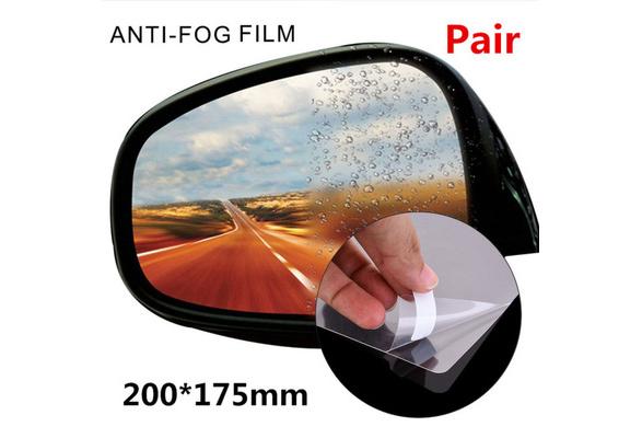 200*175mm Car Rearview Mirror Window Film Anti Fog Mist Nano Coating Rainproof