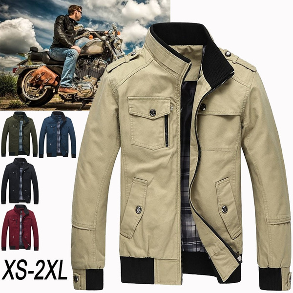 5b17a7fe8f5 Mountainskin Casual Men's Jacket Spring Army Military Jacket Men ...