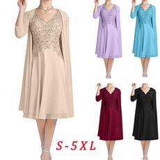 lace dresses, Lace, chiffon, Formal Dress