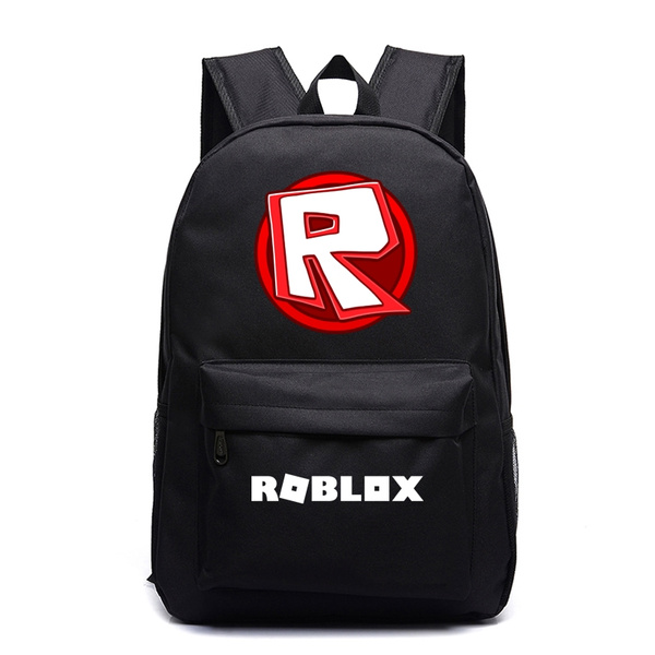 Roblox Canvas Backpack Women Men Laptop Backpack Boys Girls School Backpacks