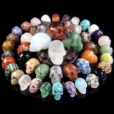 Collectibles, skulldecoration, quartz, skull