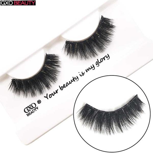 9cacdbfd848 GXO BEAUTY Magnetic Eyelashes False Eyelashes Set for Natural Look ...