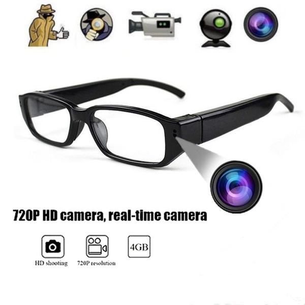 e306af633d Mini HD 1080P 720P Spy Hidden Camera Glasses Hidden Eyewear DVR ...