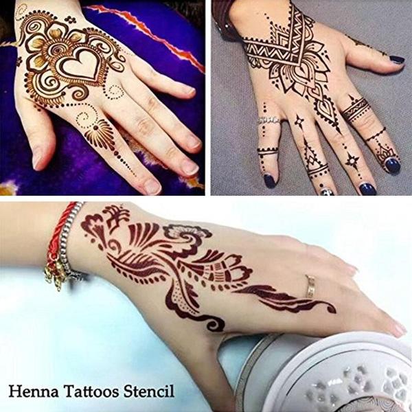 Wish Dsgh 5 Piece Temporary Tattoo Body Art Henna Cones 30