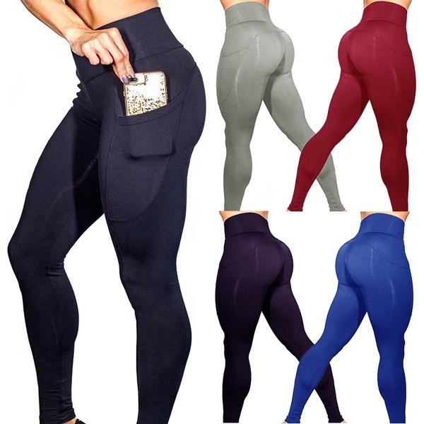 63e8616444d750 Pocket Yoga Pants Women Tights Yoga Leggings Women Push Up Leggins ...