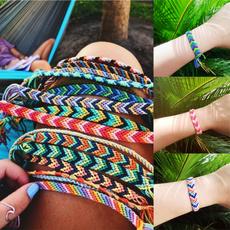 Charm Bracelet, beachankletchain, adjustablebracelet, Handmade