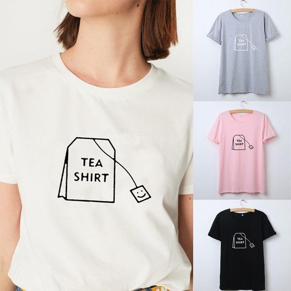 Kawaii, Funny, teagraphictshirt, Fashion