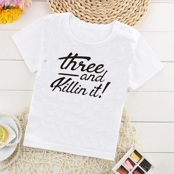 Wish Three Year Old Birthday Shirt Boy 3