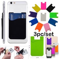 pouchholder, stickycardpocket, Phone, Silicone