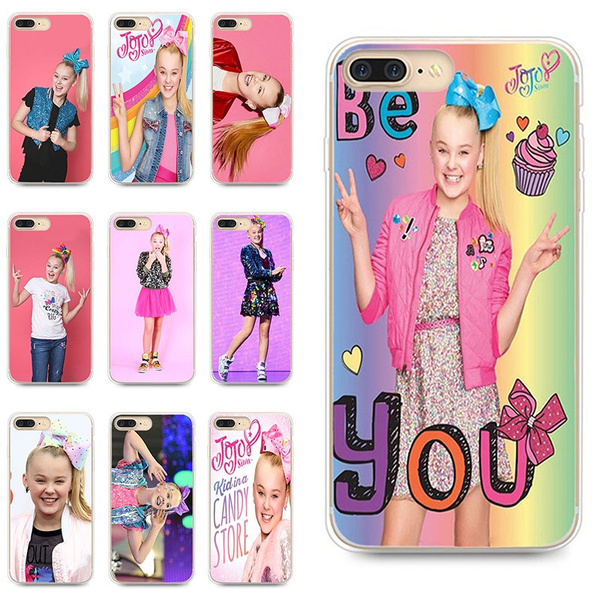 promo code 9df16 edcd6 Jojo Siwa Pattern Iphone Case for  IPhone5/5s/se/6/6s/6plus/6splus/7/8/7plus/8plus/iphoneX TPU Phone Case
