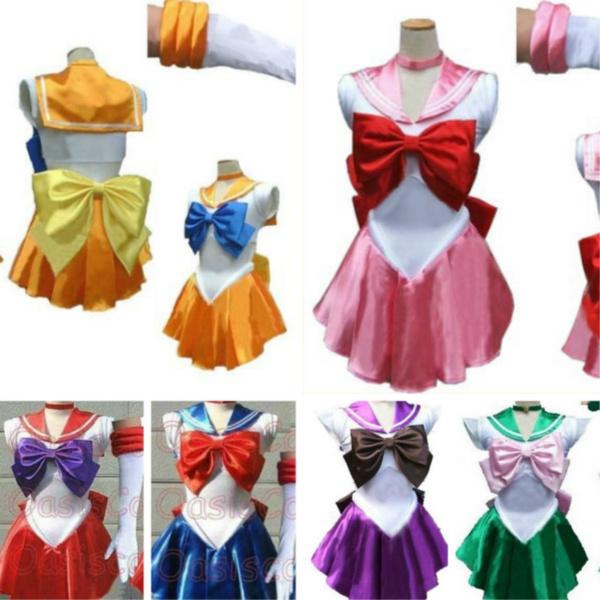 Adult Cosplay Sailor Dress Size Medium