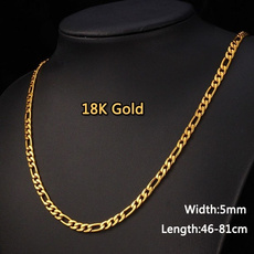 Steel, necklaces for men, Chain, Classics
