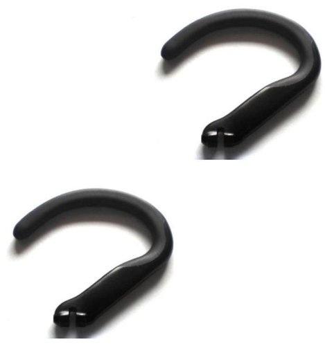 c7e534c696f 2pcs New Black Earhooks for Plantronics Voyager 520 521 835 Explorer ...