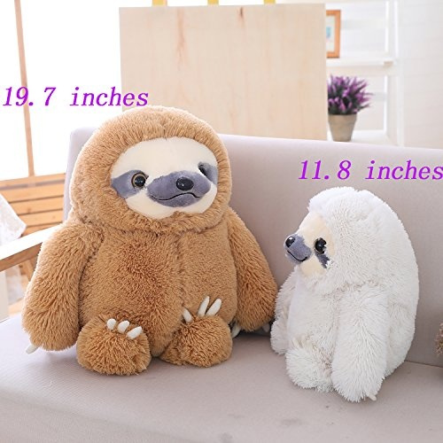 Wish Winsterch Fluffy Giant Sloth Stuffed Animal Toy Kids Gift