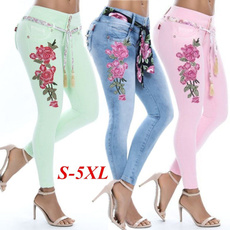 Women Pants, womens jeans, skinny pants, Denim