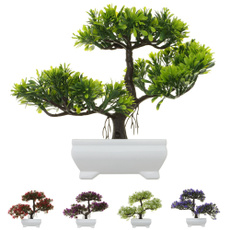 Bonsai, Mini, Decor, artificialplant