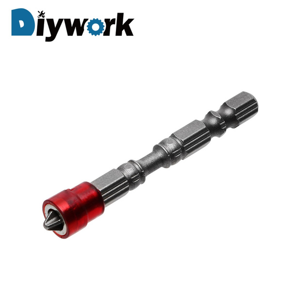5X Anti Slip Electric Hex Magnetic Screwdriver S2 PH2 Single Head Bit Tool 65mm