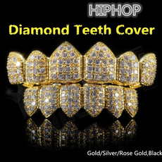 goldplated, rapperaccessorie, diamondteethcover, DIAMOND