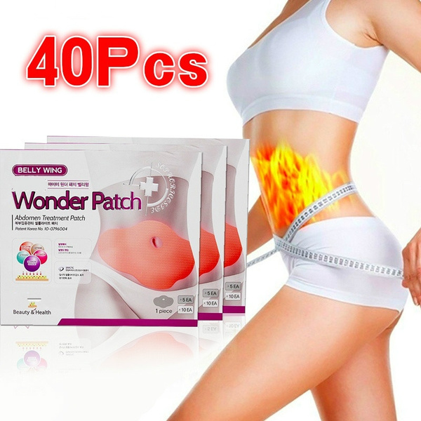 40 Pcs Wonder Slim Patch Slimming Belly Body Wraps Lose Weight Abdomen Fat Burning Patch Heath Care Production