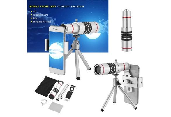 Wish 18x high definition camera lens monocular telescope lens for