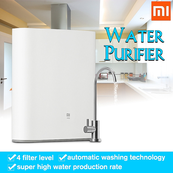 Original Xiaomi Water Purifier 1A Countertop with Faucet Support WiFi  Connect Smart Mi Home APP RO Reverse Osmosis Filter for Household