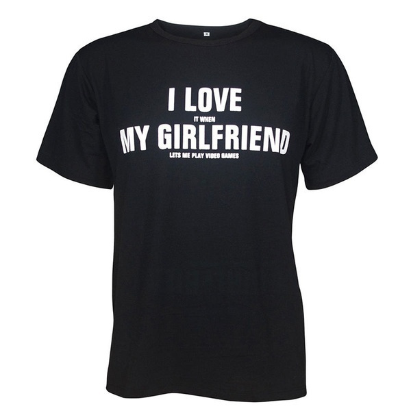 4ff3e79d09 I Love My Boyfriend, I Love My Girlfriend Matching Couple T-shirt ...