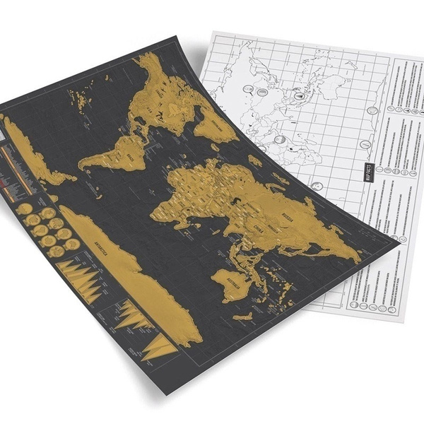 Wish travel edition scratch off world map poster personalized wish travel edition scratch off world map poster personalized journal map scratch mark paintings gumiabroncs Gallery