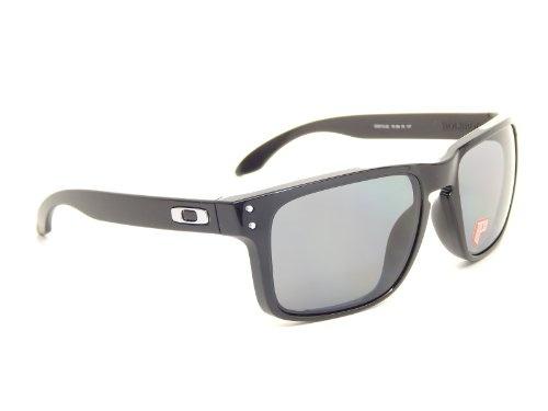 Wish | New Oakley Holbrook Polarized 9102-02 Polished Black/Polar Gray Lens  55mm Sunglasses