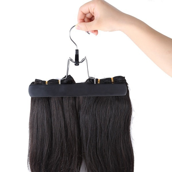 Hair Extension Carrier Storage Suit Case Bag And Hanger Wig Stands Hair Extensions Hanger Hair Extensions Bag