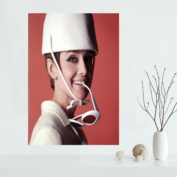 Wish | New Arrival Audrey Hepburn Canvas Oil Painting Character ...