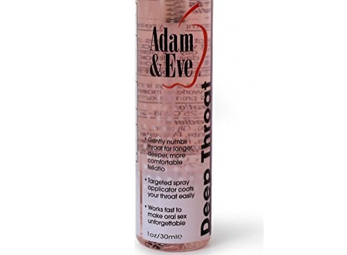 Deep throat oral desensitizer spray