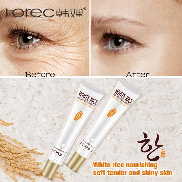 ROREC White Rice Eye Cream Anti Wrinkle Eye Bag Hyaluronic